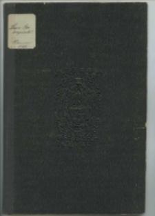 Wiązanie w herbowney Nałęczy od Szkoły Ekonomiczney, przez [...] Leona [...] Raczyńskiego [...] fundowaney [...] podczas [...] imienin [...] fundatora [...] w upominkach [...] złożone roku [...] 1751 [...]