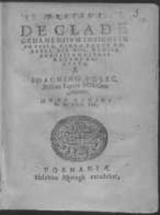 Proteus de clade Gedanensium insigni in Prussia, circa pagum Rokitki, die XVII. mensis Aprilis a nostris recens accepta Ioachimo Volsc. Bilscio Equite Polono Autore Anno Domini M. D. LXX. VII