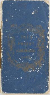 Raptularzyk Leonarda Niedźwieckiego zawierający zapiski dzienne z roku 1840