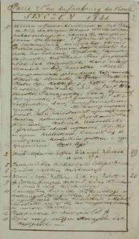 Raptularzyk Leonarda Niedźwieckiego zawierający zapiski dzienne z roku 1841