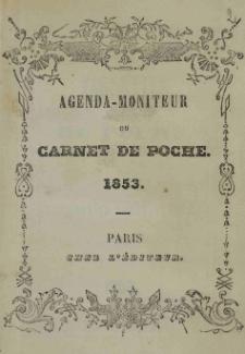 Raptularzyk Leonarda Niedźwieckiego zawierający zapiski dzienne z roku 1853