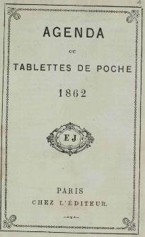 Raptularzyk Leonarda Niedźwieckiego zawierający zapiski dzienne z roku 1862